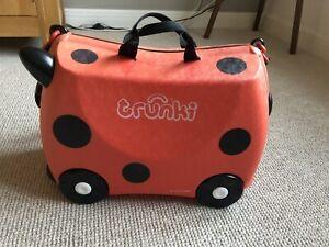 Ladybird Trunki Ride On Kids Suitcase Red
