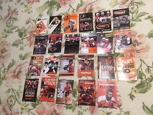 Philadelphia Flyers Schedule Lot (23 Schedules)