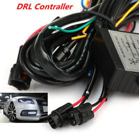AUTOMATIC CAR LED DAYTIME RUNNING LIGHT RELAY HARNESS DRL CONTROL ON/OFF DIMMER