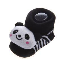 Panda Cute Baby Boy Girl 3D Bootie Socks Anti / Non Slip 0-12 months B2O9 J3E8