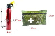 500ml Easy Use Fire Extinguisher 42 Pcs First Aid Kit for Cars Caravan Home