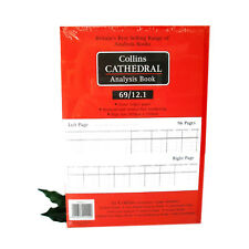 COLLINS Cathedral Analysis Book 69 series Collins 69/12.1 Accounts Book x1