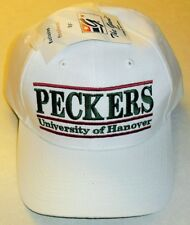 Universtiy of Hanover PECKERS Adjustable Strapback hat Made by THE GAME Vintage