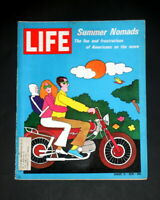 LIFE MAGAZINE AUGUST 14  1970 SUMMER NOMADS