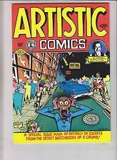 Artistic Comics #1 VF/NM (4th) print - robert crumb underground comix sketchbook
