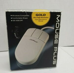 Vintage Data Plus Products Mouse Plus MP-420