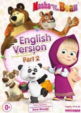 USA SELLER!  MASHA AND THE BEAR DVD NTSC PART2 ENGLISH VERSION 18 EPISOD(19-36)
