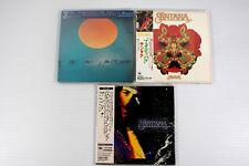 SANTANA~ JAPAN MINI LP CD SET OF 3 ALBUMS, ORIGINAL, RARE, OOP