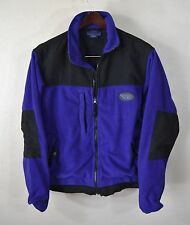 Buell Motorcycles Fleece Jacket SMALL Purple Black MC Bike
