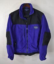 Buell Motorcycles Fleece Jacket SMALL Purple Black MC Bike