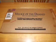 VILLAGE OF THE DAMNED-HORROR-CHRISTOPHER REEVE-VINTAGE MOVIE STANDEE-ORIG BOX