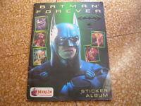evado mancoliste figurine BATMAN FOREVER € 0,30 Merlin 1995 vedi lista
