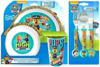 PAW Patrol 'Dynamic' 6-Piece Dinner and Cutlery Set | Tableware | Mealtime Set