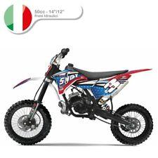 Pitbike Moto Cross 50cc Cambio Automatico ruote 14/12