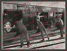 Reichsbahn Stromlinien-Lok BR 05 Mechaniker Verkleidung Kuppelstange Borsig 1935