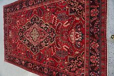 "7'2""x11'0"" Handmade Persian Lilihan Wool Rug"