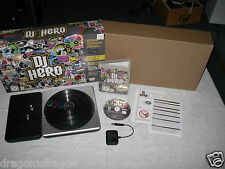 DJ HERO incl. TURNTABLE-Contr. (ps3/Playstation 3) in ovp&neu completamente