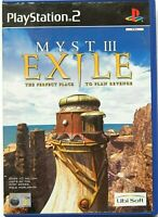Myst III 3 - Exile  (Sony PlayStation 2, 2002, PAL) PS2