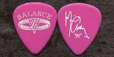 Van Halen 1995 Balance Tour Guitar Pick Michael Anthony custom concert stage #2