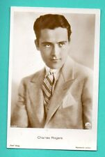 CHARLES ROGERS # 5394/3 VINTAGE PHOTO PC. PUBLISHER GERMANY 492