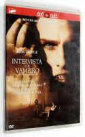 DVD INTERVISTA COL VAMPIRO 1994 Drammatico Cruise Pitt Banderas Dunst