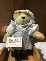 "Muffy VanderBear ""REQUESTS THE PLEASURE"" High Tea BEAR w/Tag 1991"