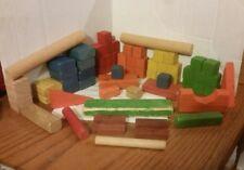 Vintage Playskool Colored Blocks lot 2