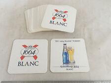 NEW Lot of 20 Kronenbourg 1664 Blanc France Beer Cardboard Bar Drink Coasters