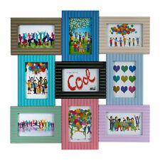 Multicolor Bilderrahmen für 9 Fotos 10x15 Galerie Bilder Foto Rahmen Collage