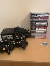 Vielle console GameCube avec 21 jeux