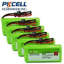 5x Cordless Phone Battery 800mAh 2.4V for Uniden BT-1008 BT-1016 BT-1021 BT-1025