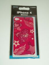 SKINS IPHONE 4 DECAL STICKERS x 3 PACKETS - ASSORTED DESIGNS - BNIP (A)