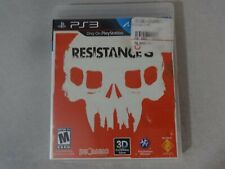 EUC Resistance 3 Sony Playstation 3 PS3 Game Disc & Box Free Ship