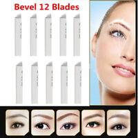 50Pcs Makeup Microblading Needles 12 Pin Manual Eyebrow Blades Tattoo Permanent