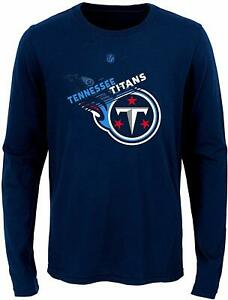 Outerstuff NFL Football Youth Boys Tennessee Titans Flux Long Sleeve Ultra Tee