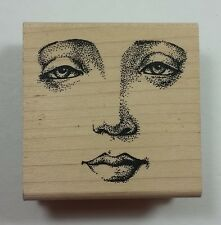 JudiKins Face Rubber Stamp 2329F