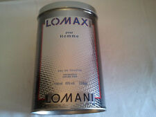 Vintage Lomani LOMAX 100ml EDT Spray Men's Perfume Fragrance Sealed RARE