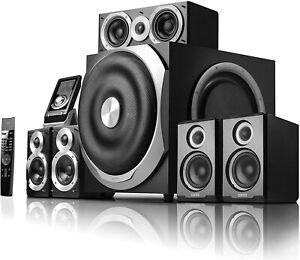 Edifier S760D 5.1 Surround Lautsprechersyste Heimkino Musik Anlage Boxen Schwarz