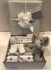 Unisex Baby Gift Hamper Basket Maternity Shower Gift Baby New Baby Gift Idea