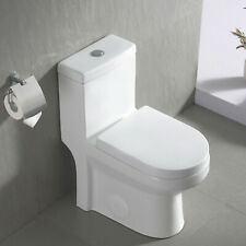 DeerValley One Piece Toilet Dual Flush Toilet with Soft Closed Seat Small Toilet