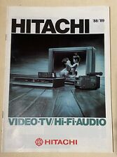 HITACHI 88/89 VIDEO TV HI-FI AUDIO