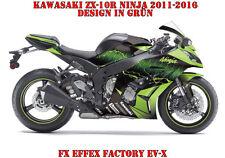 FX  FACTORY DEKOR GRAPHIC KIT KAWASAKI NINJA 250,350,650,ZX-6R,ZX-10R EV-X B