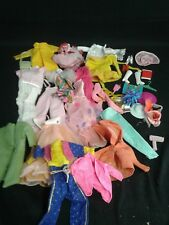 MIXED LOT OF BARBIE DOLL CLOTHES & accessories
