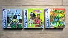 Lotto di 3 giochi completi per Nintendo Game Boy Advance / GBA