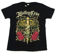 Motley Crue Exquisite Dagger Black T Shirt New Official Dr. Feelgood
