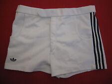Short Adidas Tennis ATP Ventex Blanc Vintage Trefoil Ancien 80'S - 85