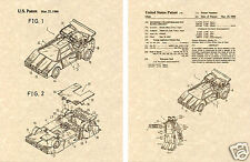 Transformers SUNSTREAKER US Patent Art Print READY TO FRAME! 1987 Ohno Autobot