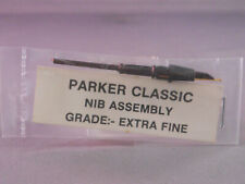 Parker Vintage Classic Fountain Pen Nib-extra-fine--gold-new old stock