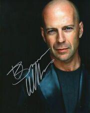 Autographed Bruce Willis signed 8 x 10 photo Nice