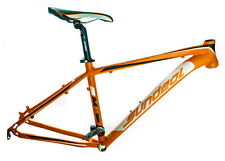 "17"" Sundeal M7 26"" 6061 Alloy Hardtail Mountain Bike Frame Disc Orange NEW"